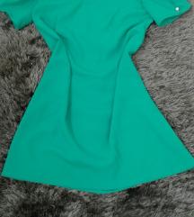 Letnja haljina sa puf rukavima- M.