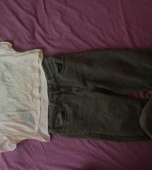 Farmerke Pantalone Majica Top