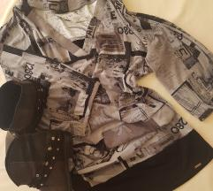 P...s fashion urbana baggy haljina/tunika