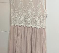 Orsay nude pink lace