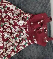 Gossip cvetna haljinica na bretele
