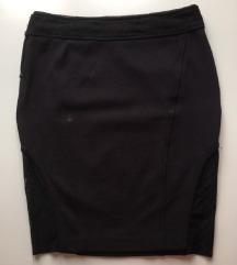 Guess crna uska suknja vel. S