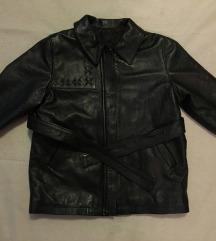 Versace deciji kozni kaput mantil jaknica HIT CENA