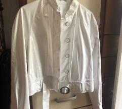 Plastificirana bela jakna