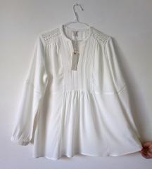 Esprit bela bluza  42 nov sa etiketom