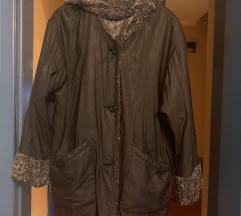 F S jakna sa dva lica%%% teddy