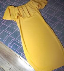 Zuta haljina s /m