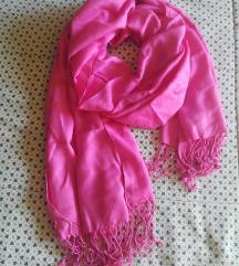 Pink roze pašmina %%%