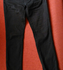 Zara braon skinny pantalone 36