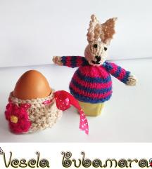Ukrasi za uskrs - zeka i korpica za jaja
