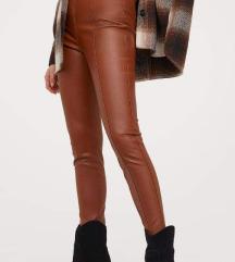 H&M kožne pantalone