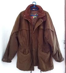 Retro braon jakna