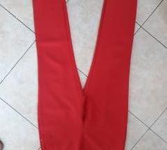 Crvene MANGO pantalone NOVE