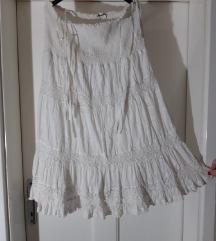 Suknja ,haljina boho pamuk u čipci