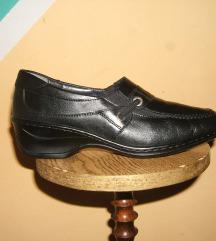 Kožne crne cipele mokasine ARA - Odlične