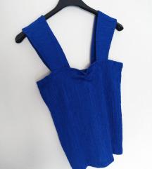Strech plava bluza