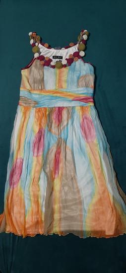 Svilena letnja haljina
