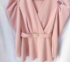 Roze bluza NOVO