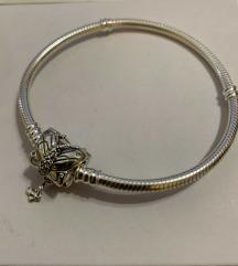 Pandora Decorative Butterfly narukvica srebro