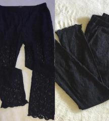 AKCIJA terranova novo-pantalone-helanke cipka