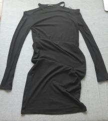 Midi haljina sa golim ramenima NOVA