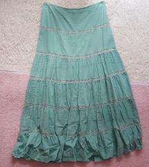 Mint dugacka suknja