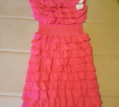 Top pink neon haljina sa etiketom sada