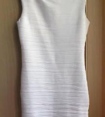 Bela uska haljina