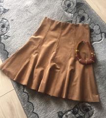 Markirana plis suknja,nova + poklon