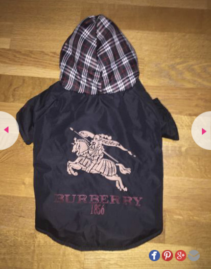 Burberry odelo za spa NOVO