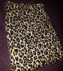 Leopardasta suknja vel M