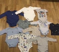 Set bodica za bebu dečaka 6 - 9 m