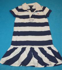 Mornarska haljina Ralph Lauren vel. 6