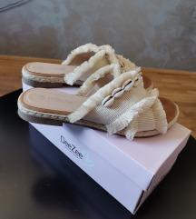 CCC papuče sa školjkama 38