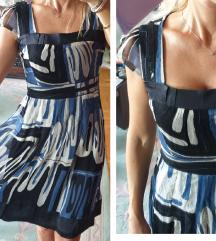 Svilena prelepa haljina sa sljokicama - SATIN