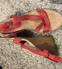SNIZENO 1500din-KOŽNE sandale(NISU nosene)