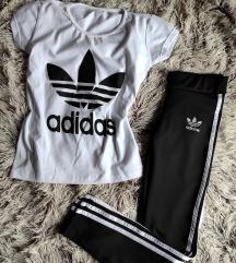 SNIZENO! Adidas komplet,NOVO!  S