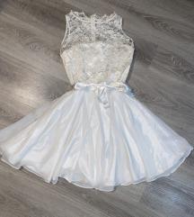 Snizeno!Swing original bela haljina za princeze