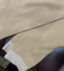 Trikotazne pantalone bez boje