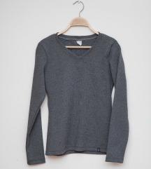 NOVO zimska siva bluza