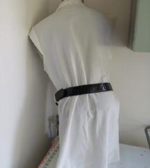 Nova bela kosulja tunika M