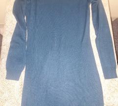 Dzemper haljina plava
