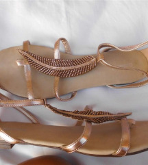 Graceland zlatne sandale 40 novo