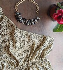 Haljina na jedno rame + POKLON OGRLICA