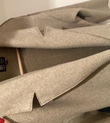 Zara mantil kaput oversize