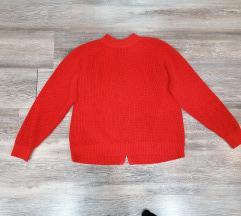 H&m crveni džemper