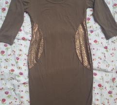 NOVA haljina KATRIN sa lepoard printom