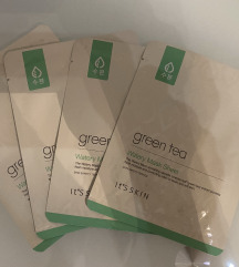 It's Skin Green Tea Watery Sheet Mask x4