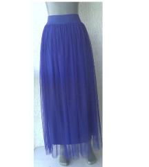 suknja duga vizan plava S ili M MISS GIRL