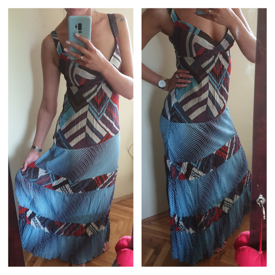 Mona maxi leprsava haljina